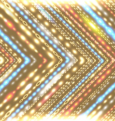 Geometric background with stylized shiny arrow vector