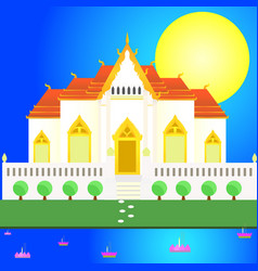 loy kratong vector image