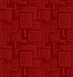 Maroon seamless rectangle pattern background vector