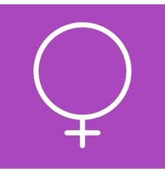 Female symbol vector