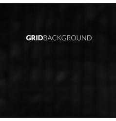 Black background with blur grid vector image vector image