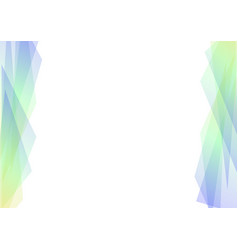 Blue and green geometric spectrum abstract vector
