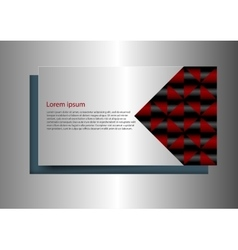 business background shadow vector image