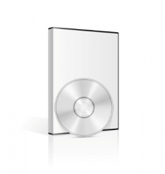 dvd case vector image vector image