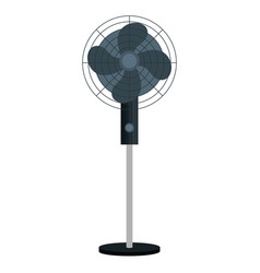 Electric fan isolated icon vector