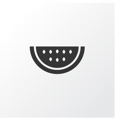watermelon icon symbol premium quality isolated vector image vector image