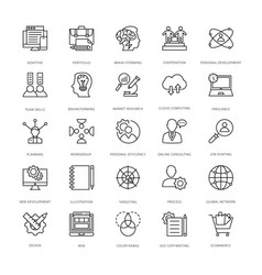 Web design and development icons 13 vector