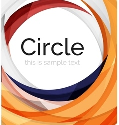 Swirl icon or background vector