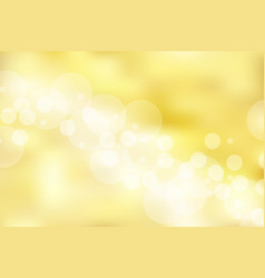 gold background and texture with bokeh elegant vector image