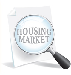 Housing market vector
