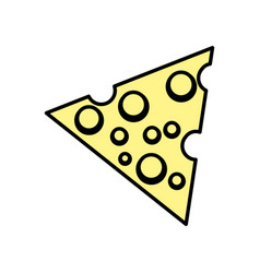 Cheese fresh nutrition food vector
