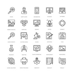 Web design and development icons 14 vector