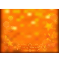 Gold sparkles and stars background vector