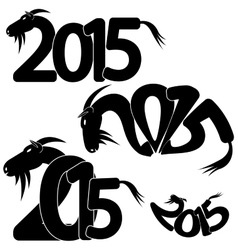 Symbol of the coming year vector