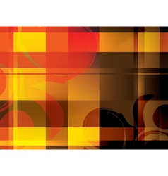 abstract bright background with crossed lines vector image