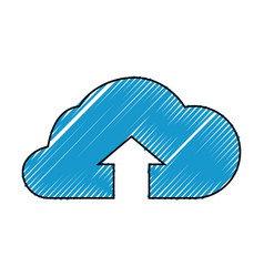 Cloud computing upload vector