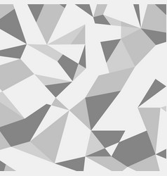 Grey abstract geometric pattern vector