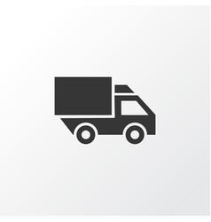 truck icon symbol premium quality isolated van vector image