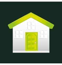Eco book environment house graphic vector