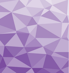 Polygonal background in purple and lilac colors vector