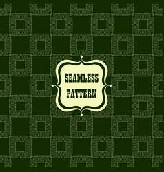 seamless pattern decorative design vector image vector image