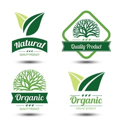 Eco label 2 vector