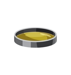 Filter lens icon cartoon style vector