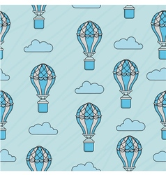 Balloon pattern vector