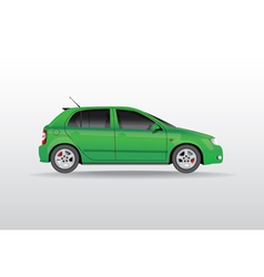 Car Side View vector image