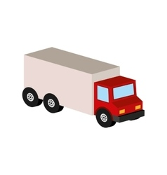 Delivery truck icon transport design vector