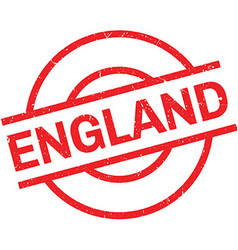 England rubber stamp vector