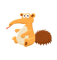 Cartoon baby animal isolated vector