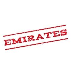 Emirates Watermark Stamp vector image