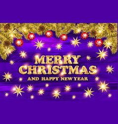 premium luxury merry christmas holiday greeting vector image vector image