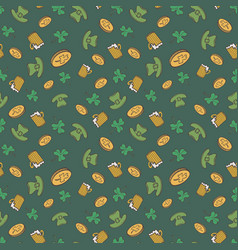 Saint patricks day pattern vector