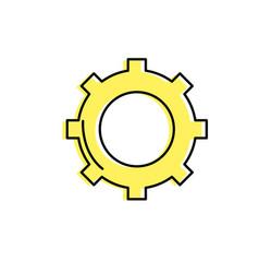 Technology web tools symbol icon vector