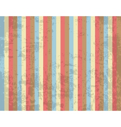 Retro striped background vector image