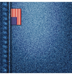 American denim vector