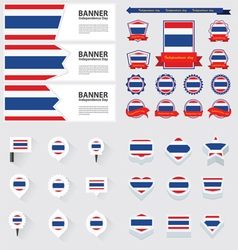 Set thailand vector
