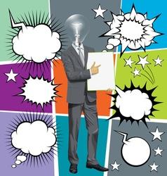 talk vector image vector image