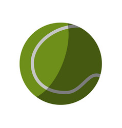 tennis related icon image vector image