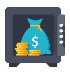 Bank deposit concept vector