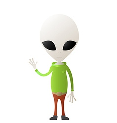 Cute alien vector