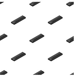 Synthesizer icon in black style isolated on white vector