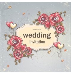 Image festive wedding background for your text vector