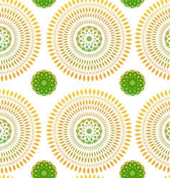 Seamless Patern with Ethnic Ornament vector image