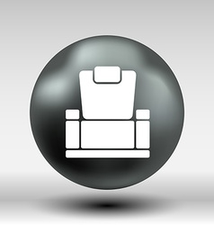 Chair icon button logo symbol concept vector