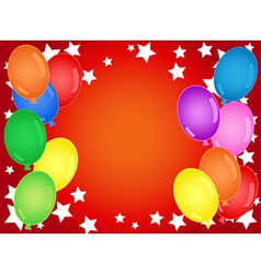 Birthday or other celebration background vector image