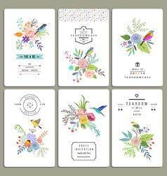 Decorative design elements vector image vector image