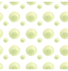 Seamless watercolor spring pattern vector